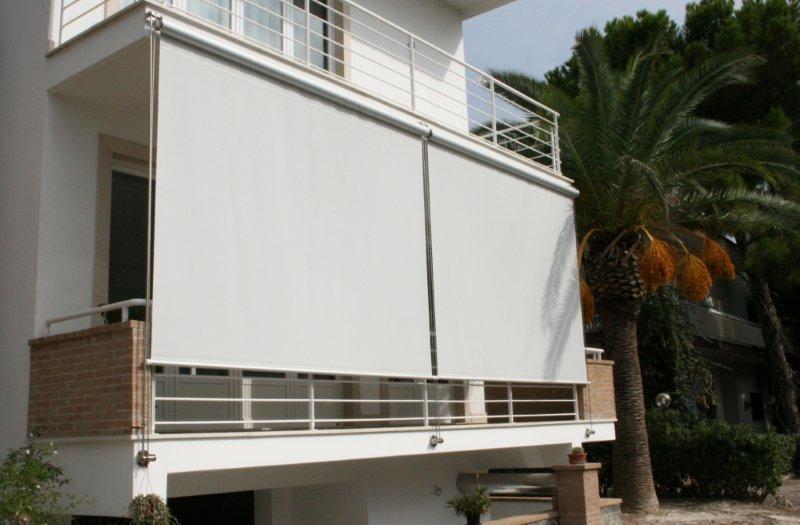 Tende di facciata dallas 110 tekno ombra - Tende da sole per porte esterne ...